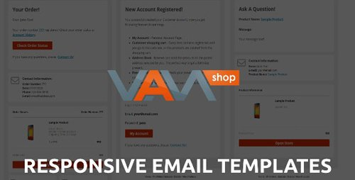 CodeCanyon - Responsive Email Templates for eCommerce WebSite v1.0 - 28061959
