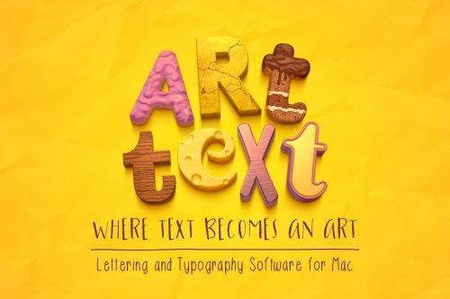 CreativeMarket - Art Text 4 5052587