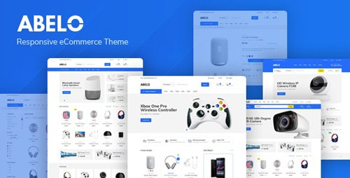 ThemeForest - Abelo v1.0 - Digital Responsive Prestshop Theme - 27759244