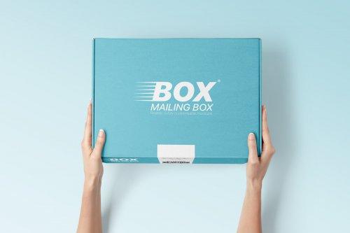 Mailing Box Mockups Set