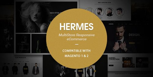ThemeForest - Hermes v2.3.4 - Multi-Purpose Premium Responsive Magento 2 & 1 Theme - 15490265