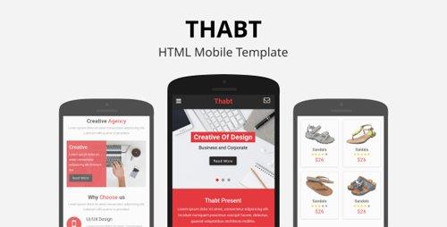 ThemeForest - Thabt v1.0 - HTML Mobile Template - 22860340