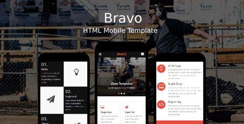 ThemeForest - Bravo v1.0 - HTML Mobile Template - 20237218