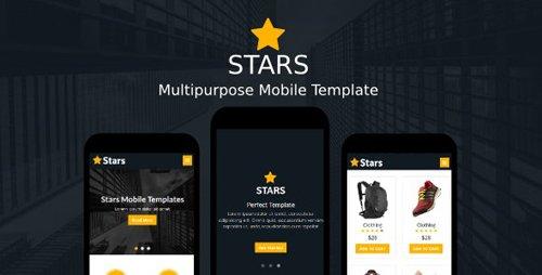 ThemeForest - Stars v1.0 - Multipurpose Mobile Template - 19595643
