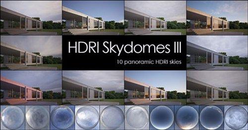 HDRI Skydomes III - 10 Panoramic Skies