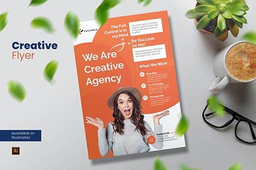 Creative Agency Flyer
