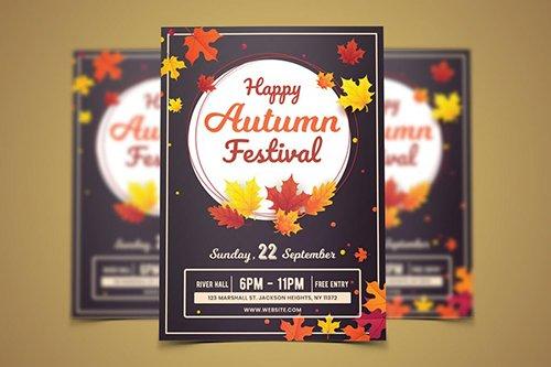 Autumn Flyer Template