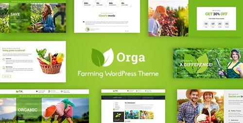 ThemeForest - Orga v2.0 - Organic Farm & Agriculture WordPress Theme - 21662874