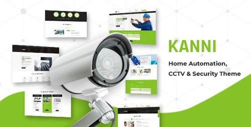 ThemeForest - Kanni v2.2 - Home Automation, CCTV Security Theme - 22433117