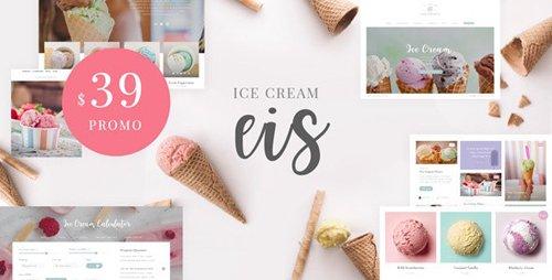 ThemeForest - Eis v1.1 - Ice Cream Shop WordPress Theme - 25745187