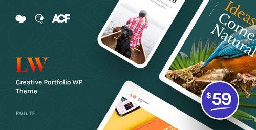ThemeForest - Lewis v1.0.1 - Creative Portfolio WordPress Theme - 24955469
