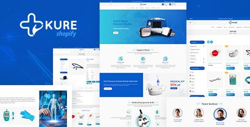 ThemeForest - Corona Medical Shop Shopify Theme - Kure v1.3 - 25704292