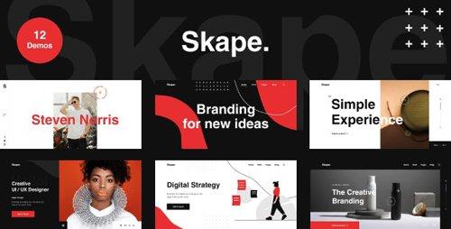 ThemeForest - Skape v1.0 - Creative Agency & Portfolio HTML Template - 28096377