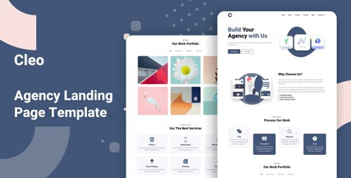ThemeForest - Cleo v1.0 - Agency Landing Page Template - 28399956