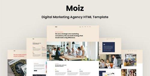 ThemeForest - Moiz v1.0 - Digital Marketing Agency HTML Template - 28363256