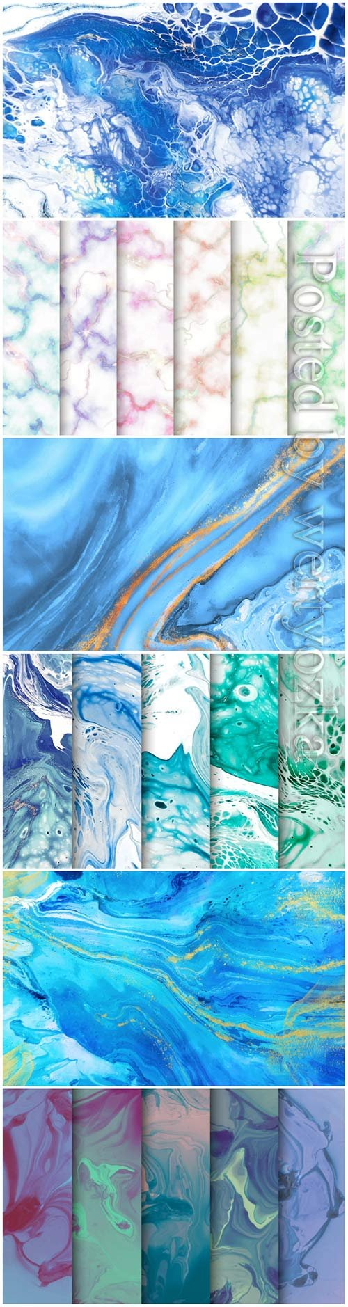 Marble paint texture vector background