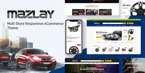 ThemeForest - Mazlay v1.0 - Car Accessories Prestashop Theme - 28430102
