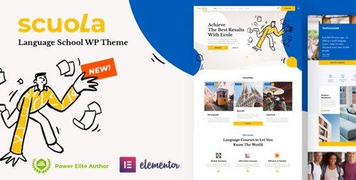 ThemeForest - Scuola v2.2 - Language School WordPress Elementor - 26355172 - NULLED