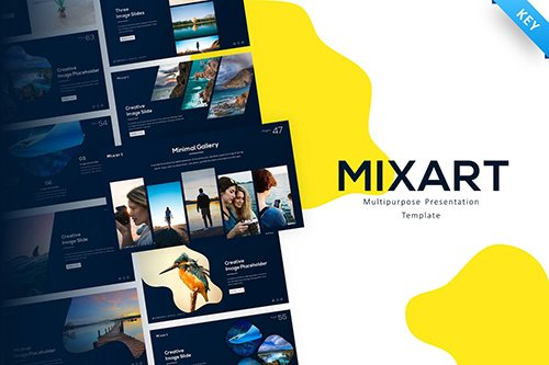Mixart Multipurpose Creative Keynote Template
