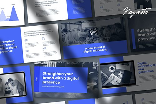 Faize - Digital Marketing Report Keynote