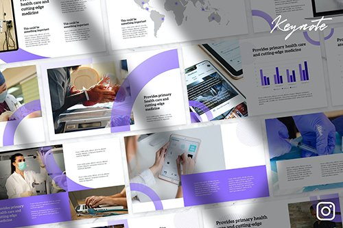 Syre - Business Report Keynote Template