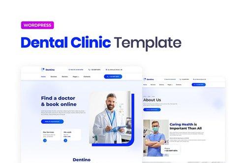 ThemeForest - Dentino v1.0 - Dental Clinic Template Kit - 28409821
