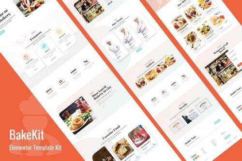 ThemeForest - Bakekit v1.0 - Food and Cake Elementor Template - 28437228