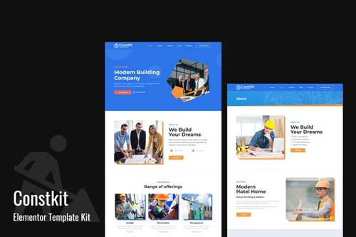ThemeForest - Constkit v1.0.0 - Construction and Industrial Elementor Template - 28409106