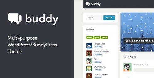 ThemeForest - Buddy v2.21.2 - Simple WordPress & BuddyPress Theme - 3506362