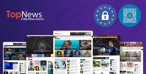 ThemeForest - TopNews v3.3.5 - News Magazine Newspaper Blog Viral & Buzz WordPress Theme - 16171130