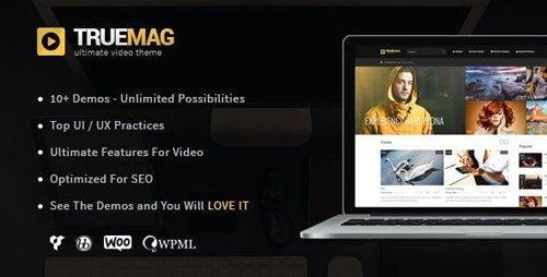 ThemeForest - True Mag v4.3.5 - WordPress Theme for Video and Magazine - 6755267