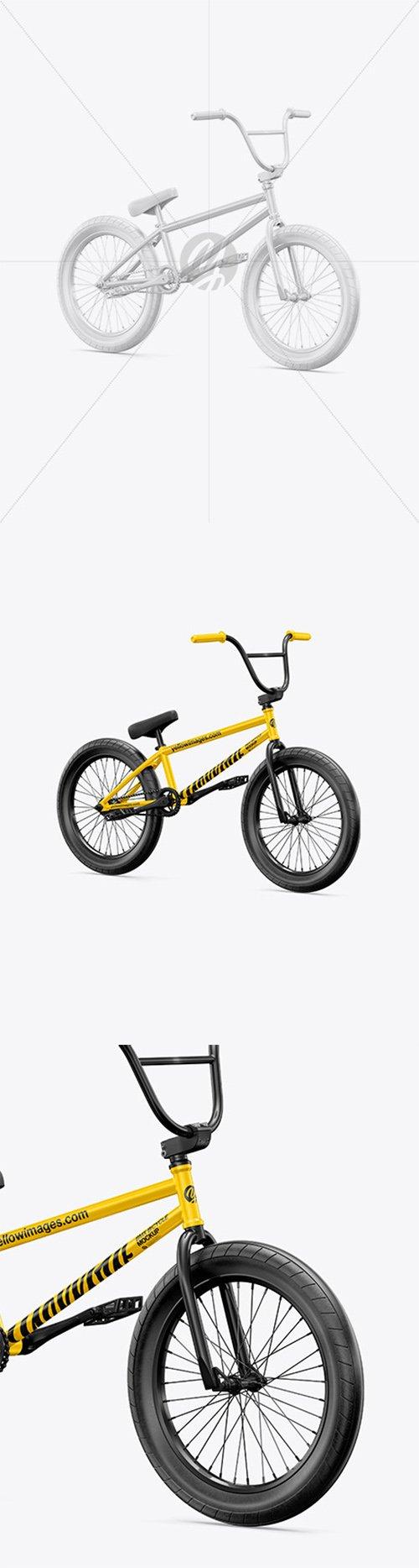 BMX Bicycle Mockup - Half Side View 64933 TIF