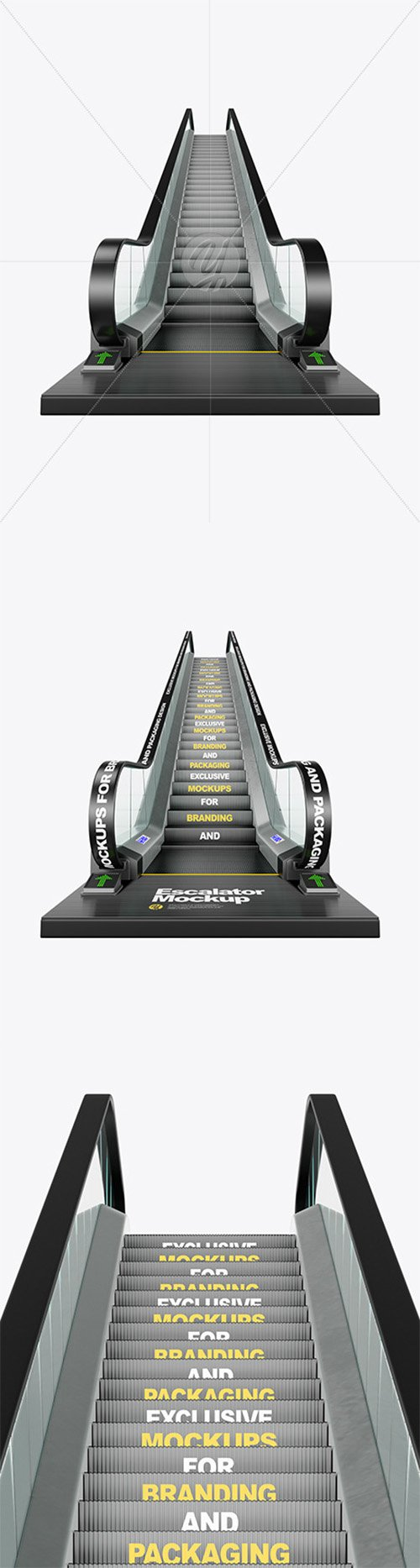 Escalator Mockup 65073 TIF