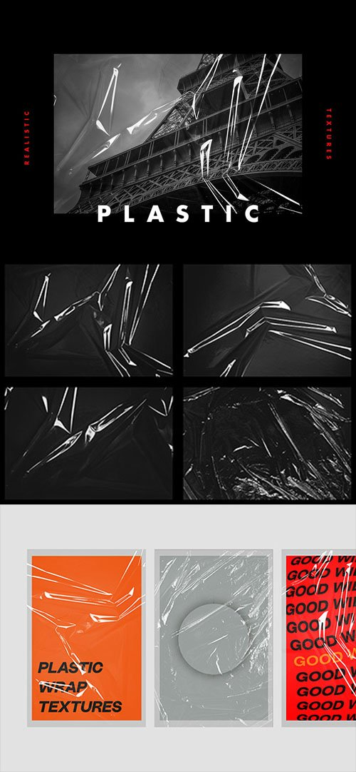 Realistic Plastic Textures in PSD