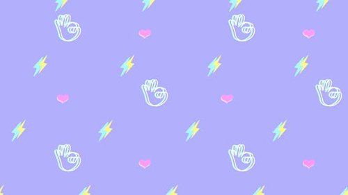 Ok Hand Pattern Background 28325896