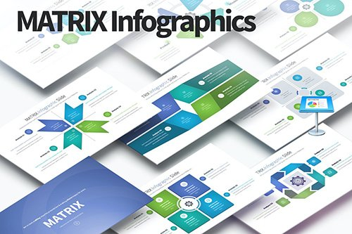 MATRIX - Keynote Infographics Slides