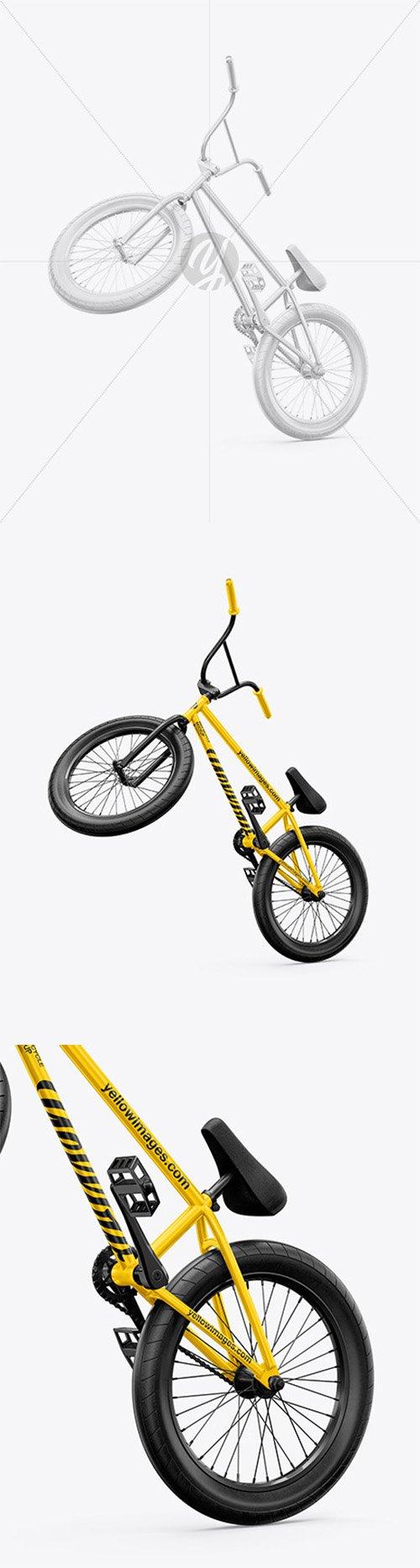 BMX Bicycle Mockup - Half Side View 65208