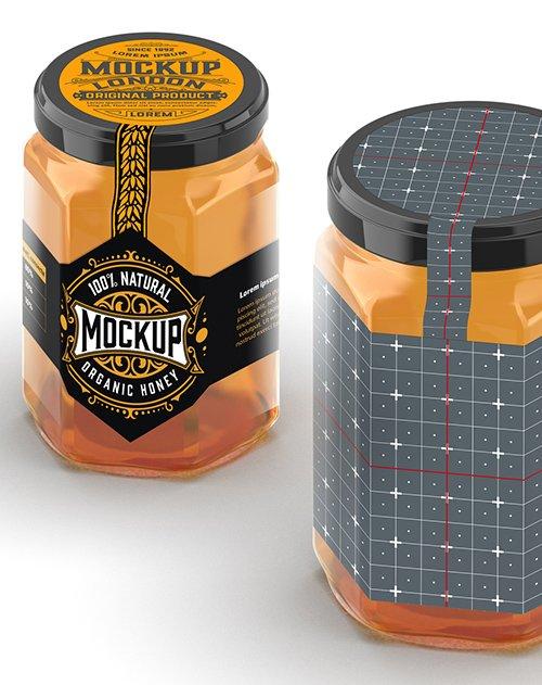 Honey Jar Mockup 328596627