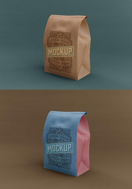 Big Kraft Bag Mockup 328596737