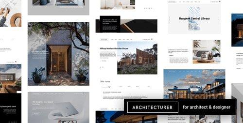 ThemeForest - Architecturer v3.1 - WordPress for Interior Designer - 22544684 - NULLED