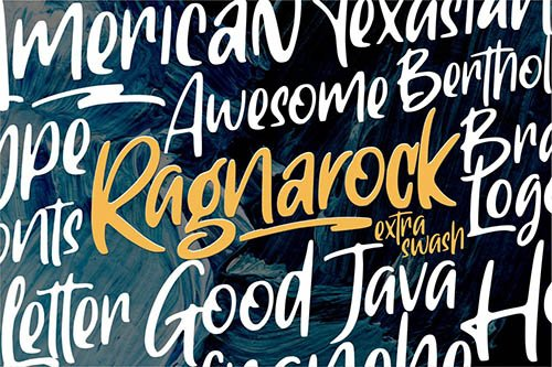 Ragnarock Display Font