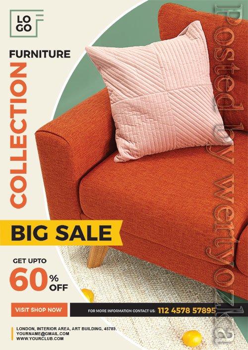 Furniture Sale Flyer Psd Template