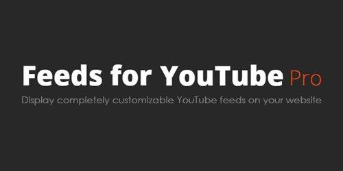 Feeds for YouTube Pro v1.2 - WordPress Plugin - NULLED