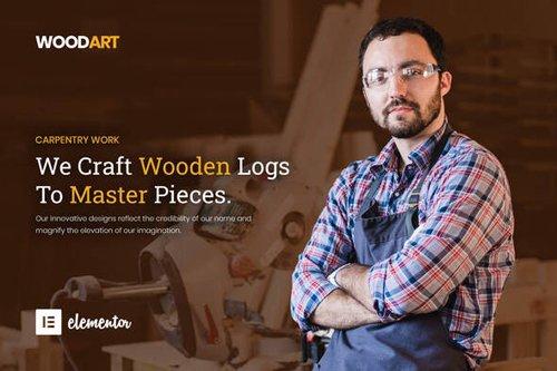 ThemeForest - WoodArt v1.0 - Artisan Template Kit (Update: 15 September 20) - 25862256