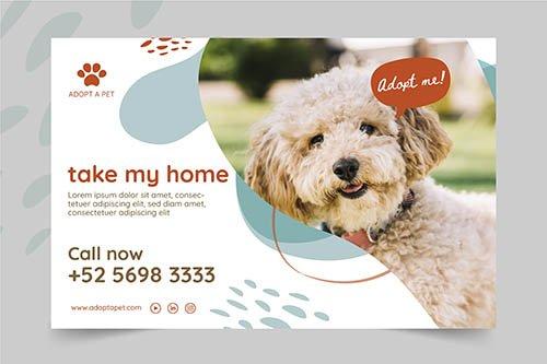 Adopt Pet Banner