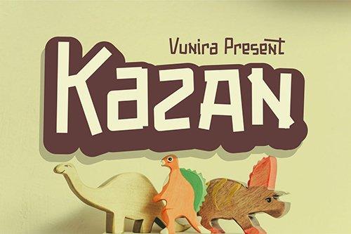 Kazan | Fancy Font