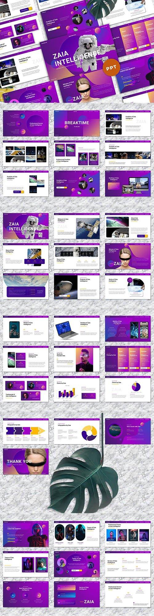 Zaia - Technology Powerpoint Template