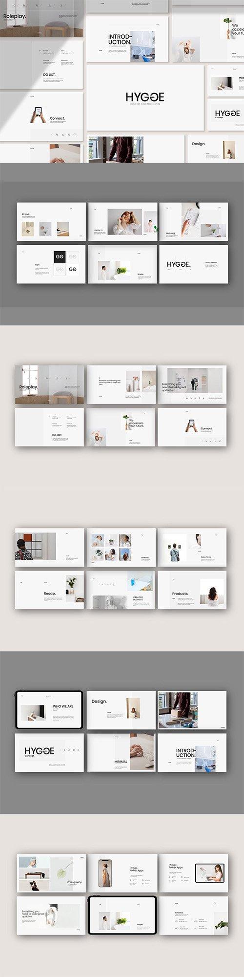 Hygge - Minimal Portfolio Powerpoint Templates