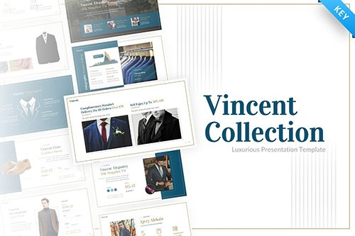Vincent Luxury Presentation Keynote Template