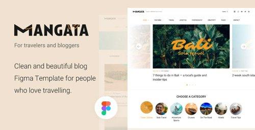 ThemeForest - Mangata v1.0 - Traveler Blog Template - 28536005